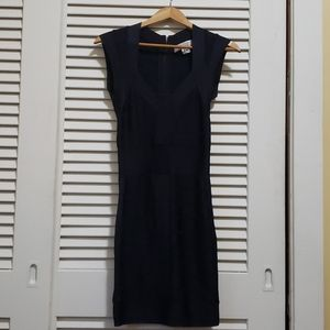French Connection Blue Bodycon Dress